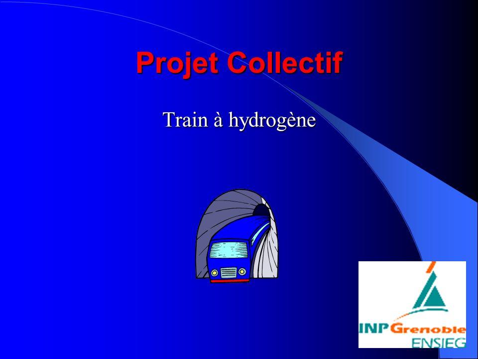 Projet Collectif Train à hydrogène