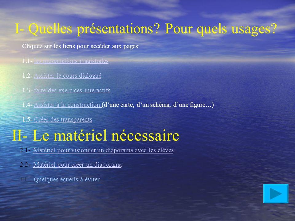 La Présentation assistée par ordinateur PAO, PréAO, diaporama, powerpoint…Qu'est-ce que c'est? - des animations de texte et d'images. - des sons, des