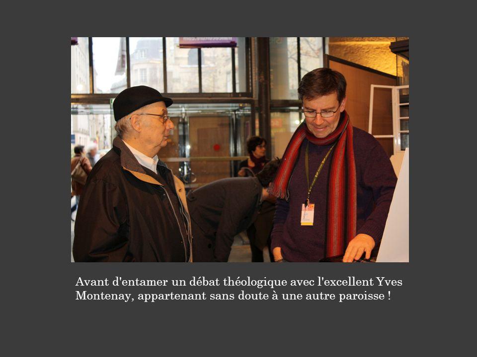 Avant d'entamer un débat théologique avec l'excellent Yves Montenay, appartenant sans doute à une autre paroisse !