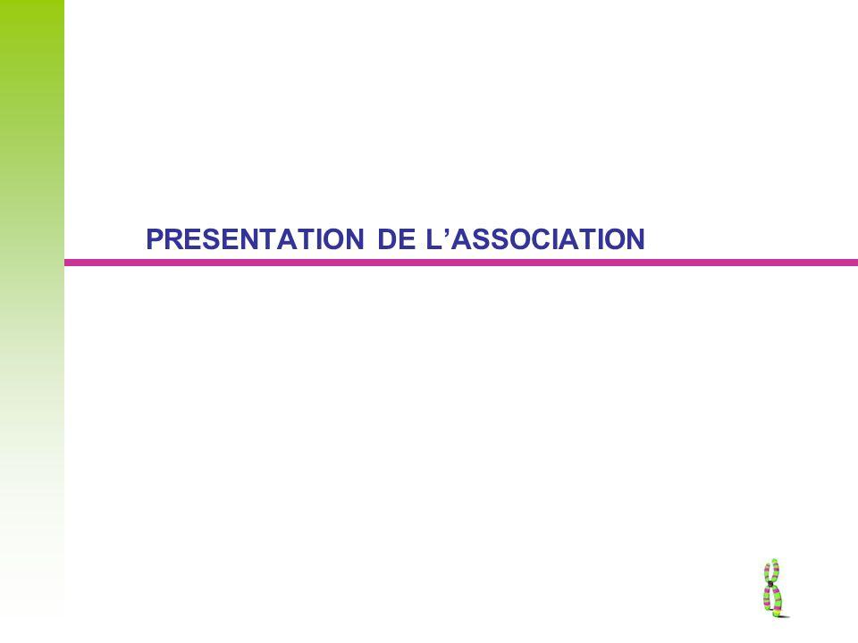 PRESENTATION DE LASSOCIATION