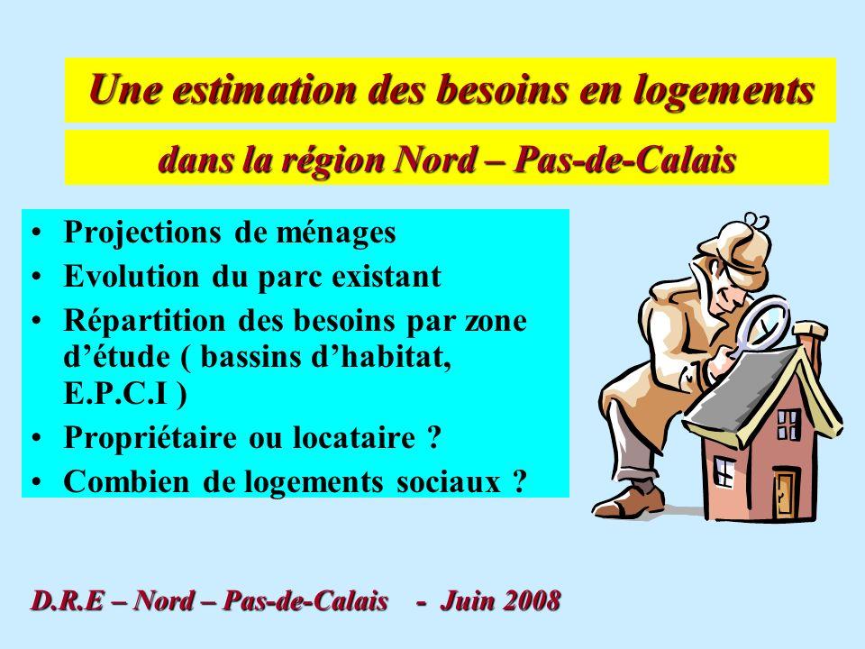 BESOINS EN LOGEMENTS REGION NORD – PAS-DE-CALAIS …et besoins en locatif social