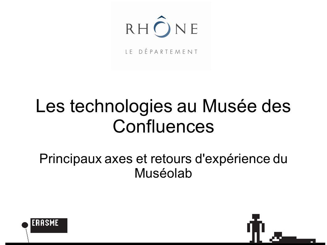 Vidéo du muséolab Statut des technologies au musée Méthode Principes Premiers retours du muséolab
