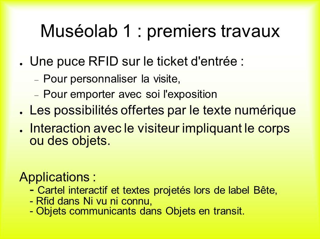Les RFID au musée