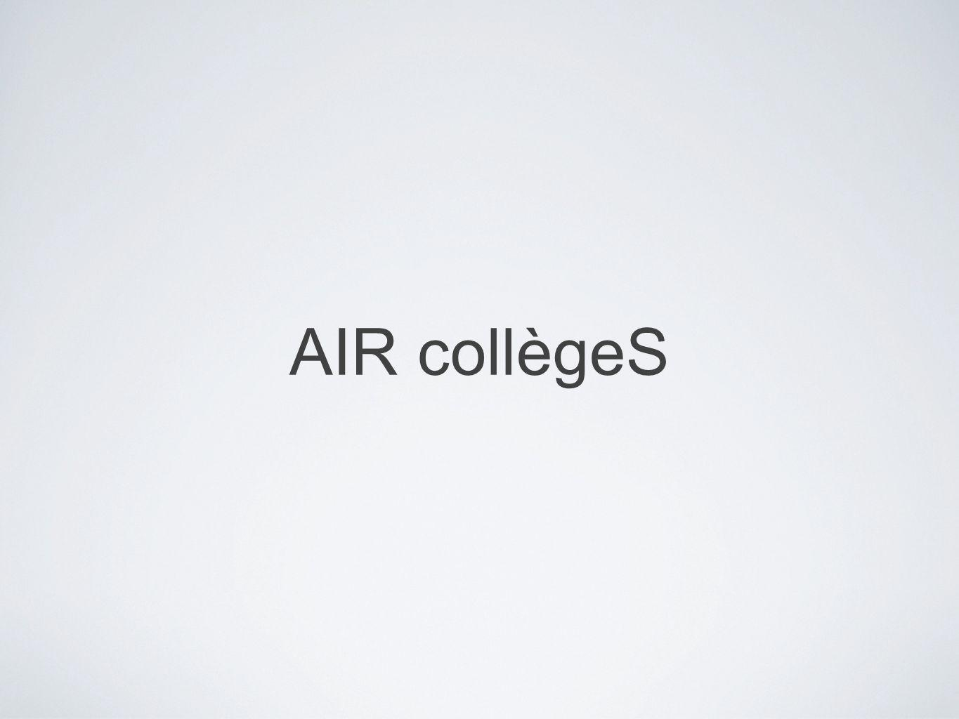 AIR collègeS
