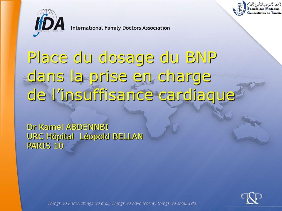 42 Dyspnée aiguë Evaluation clinique, ECG, RX+ BNP (si diagnostic incertain) BNP > 400 pg/ml NT-BNP > 1500 pg/ml BNP < 80 pg/ml NT-BNP < 350 pg/ml IVG décompensée éliminée (ou EP sévère) (sauf OAP flash) BNP 80-400 pg/ml NT-BNP 350-1500 Doute EchoDoppler… NT-BNP 880 pg/ml