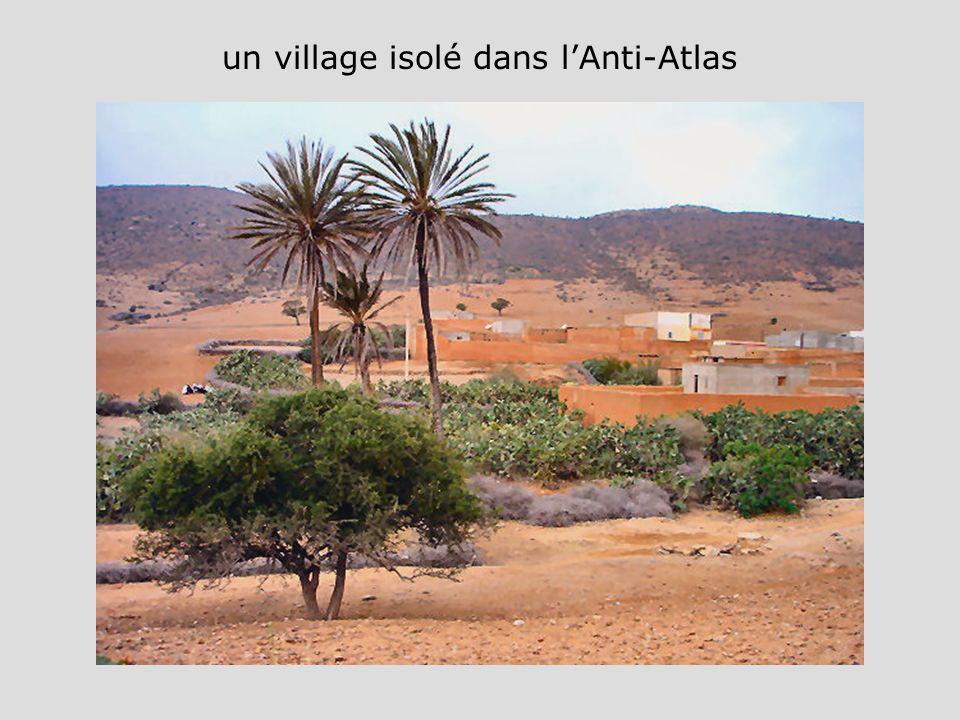 un village isolé dans lAnti-Atlas