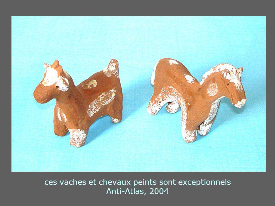 ces vaches et chevaux peints sont exceptionnels Anti-Atlas, 2004