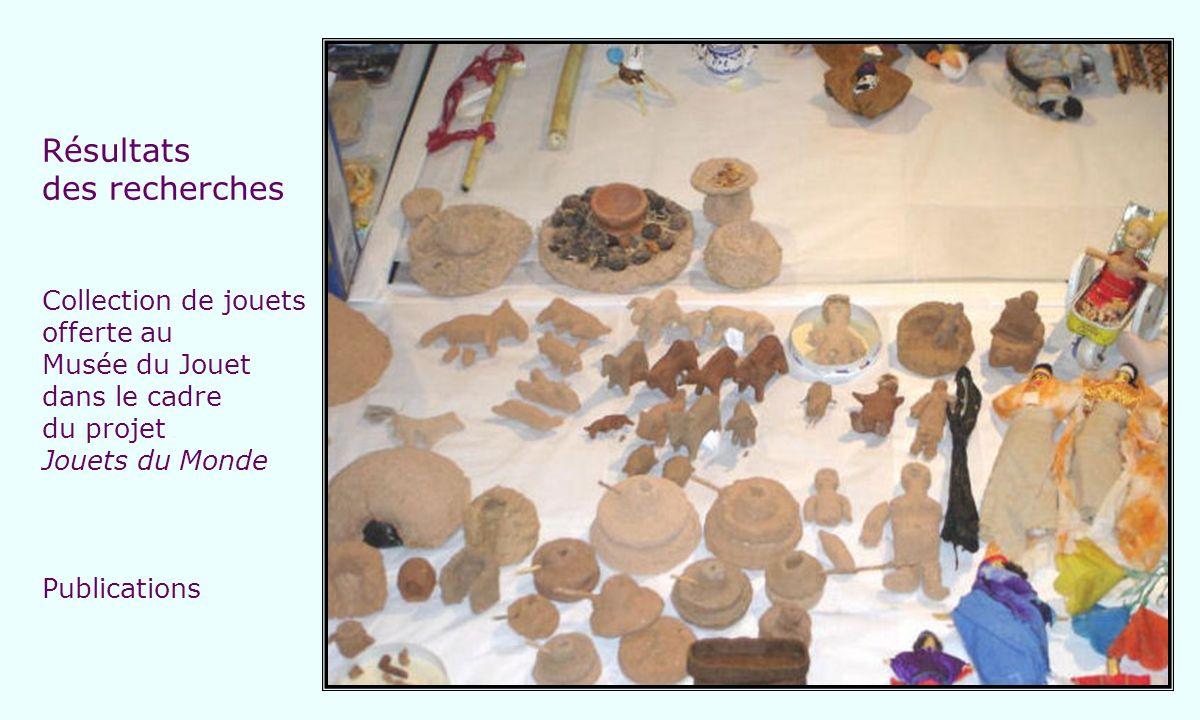 Résultats des recherches Collection de jouets offerte au Musée du Jouet dans le cadre du projet Jouets du Monde Publications