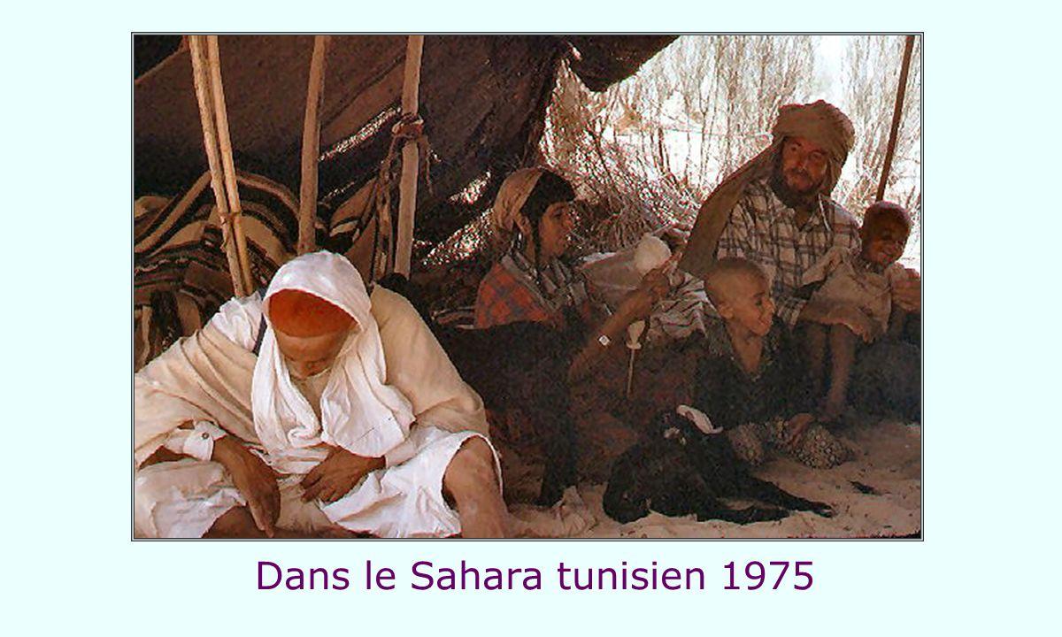 Dans le Sahara tunisien 1975