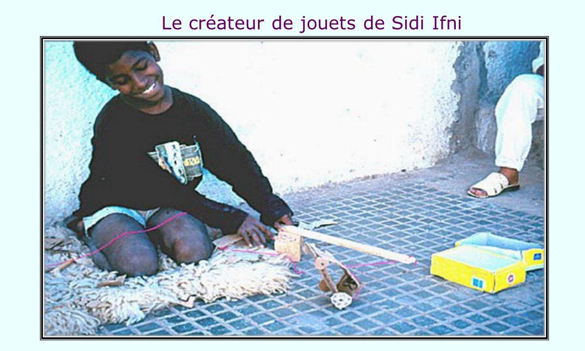 Le créateur de jouets de Sidi Ifni