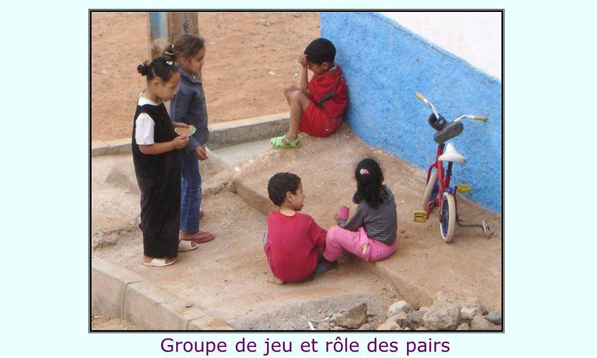 Groupe de jeu et rôle des pairs