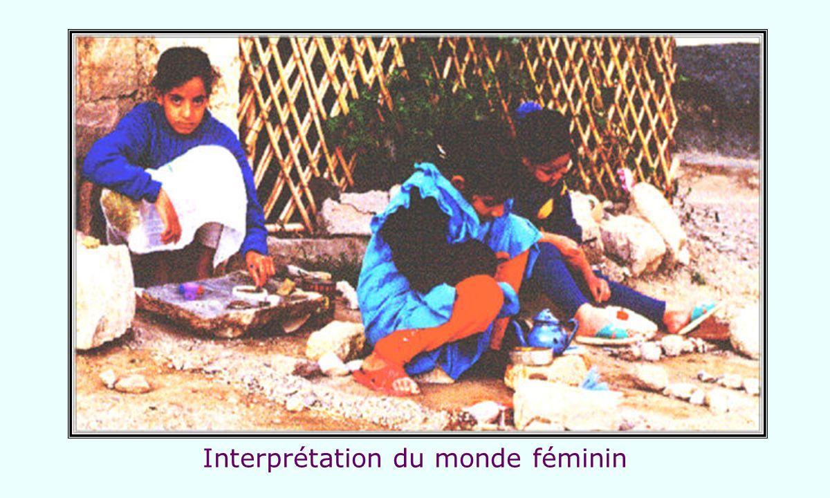 Interprétation du monde féminin