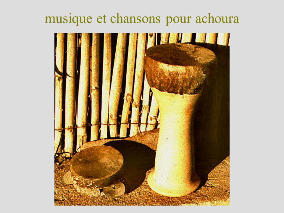 musique et chansons pour achoura