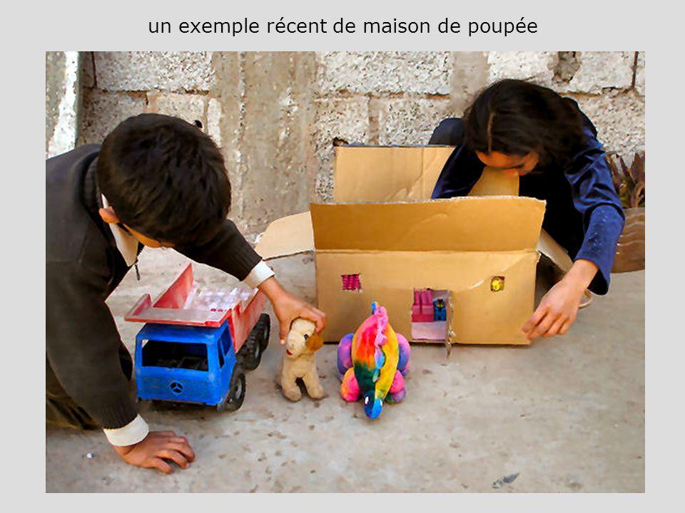 un exemple récent de maison de poupée