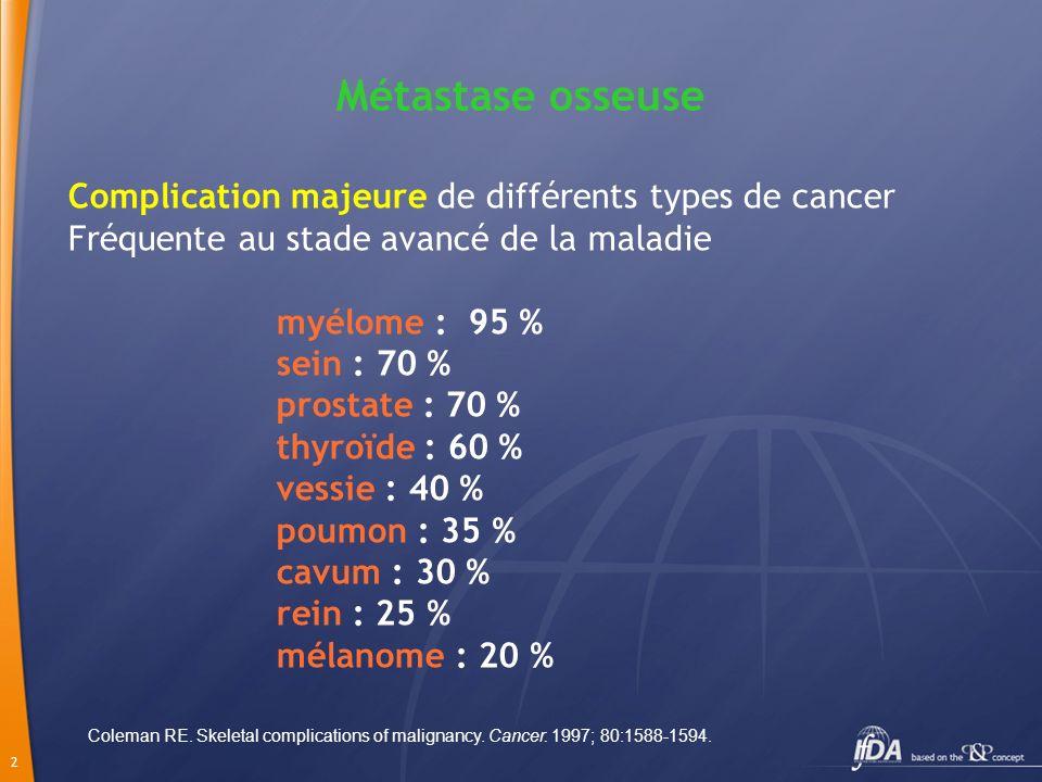 13 Quelles tumeurs à considérer .