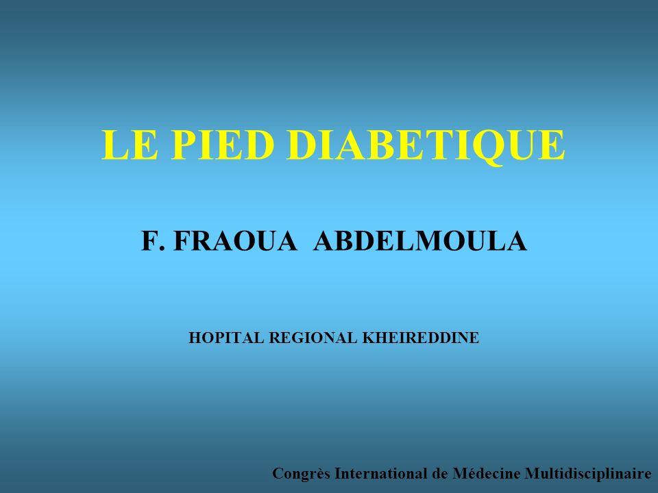 LE PIED DIABETIQUE F.