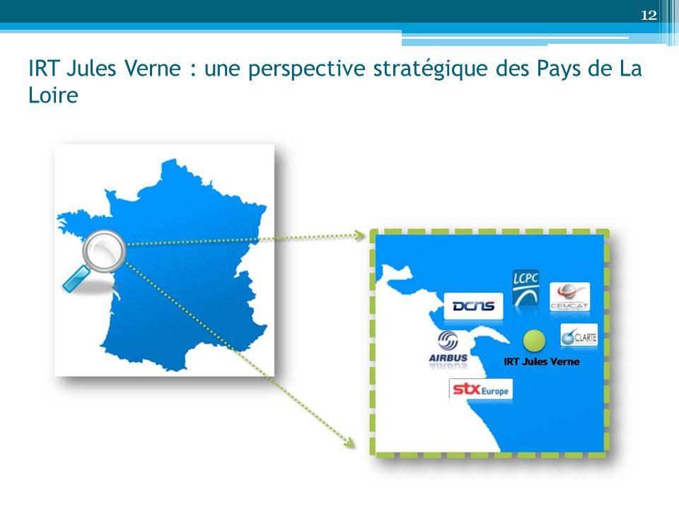 12 IRT Jules Verne : une perspective stratégique des Pays de La Loire