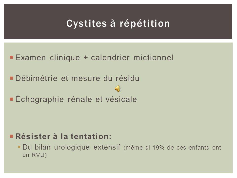 INFECTION URINAIRE SANS FIÈVRE
