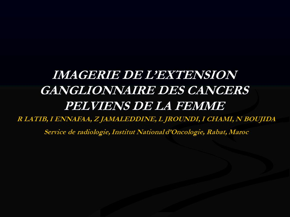IRM en séquences pondéres T2 coupes axiales: ganglions inginaux