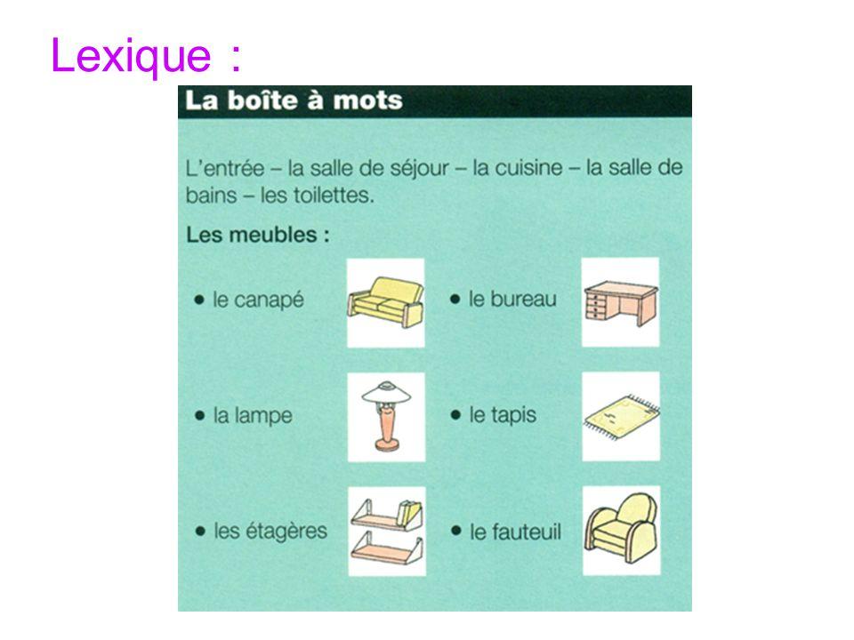 Lexique :