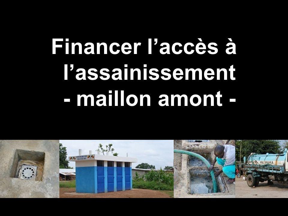 programme Solidarité Eau Financer laccès à lassainissement - maillon amont -