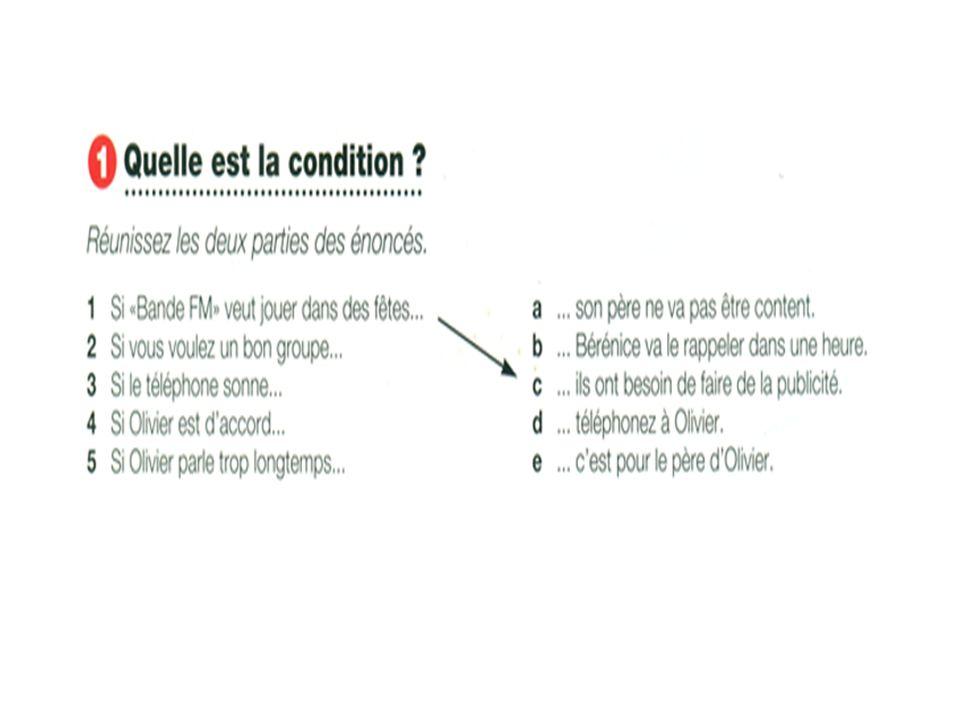 Exercice : - Mettez les verbes entre parenthèses à la forme convenable : 1.