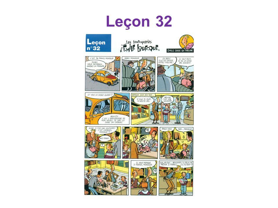 Leçon 32