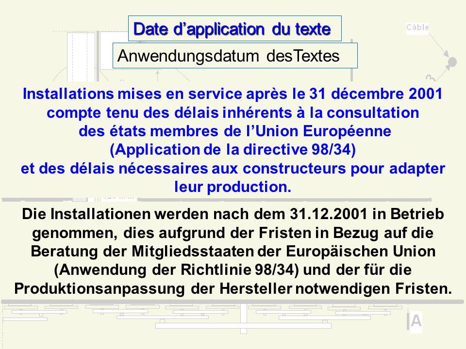 Pourquoi une réglementation spécifique aujourdhui? Warum ist heute eine Sonderregelung notwendig ? La réglementation technique des téléphériques ne pr
