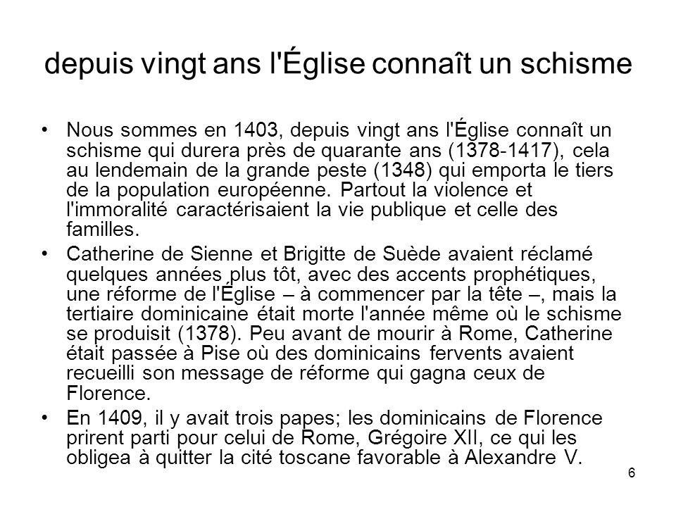 17 il propose ce que nous appellerions une politique sociale Antonin n envisageait pas la même solution pour les cent mille Florentins de son temps.