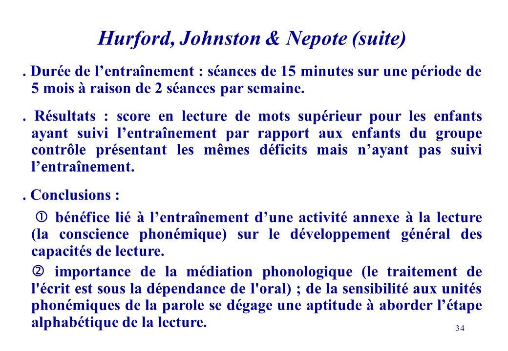 34 Hurford, Johnston & Nepote (suite).