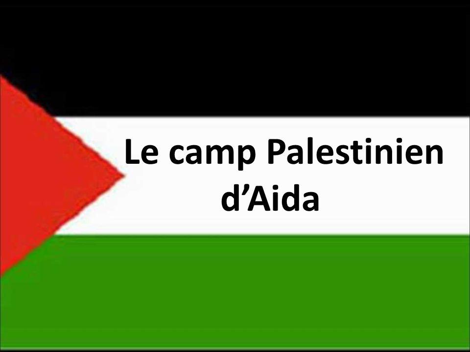 Le camp Palestinien dAida