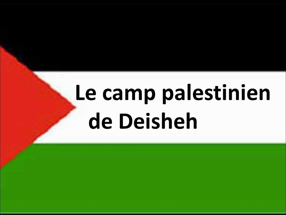Le camp palestinien de Deisheh