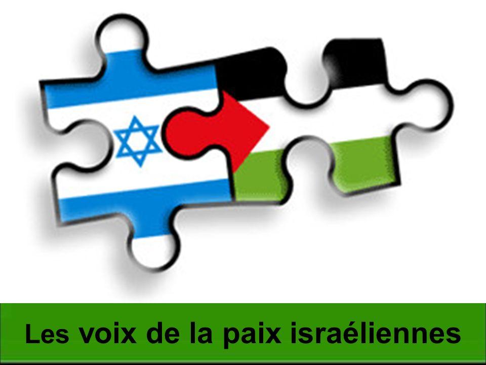 Les voix de la paix israéliennes