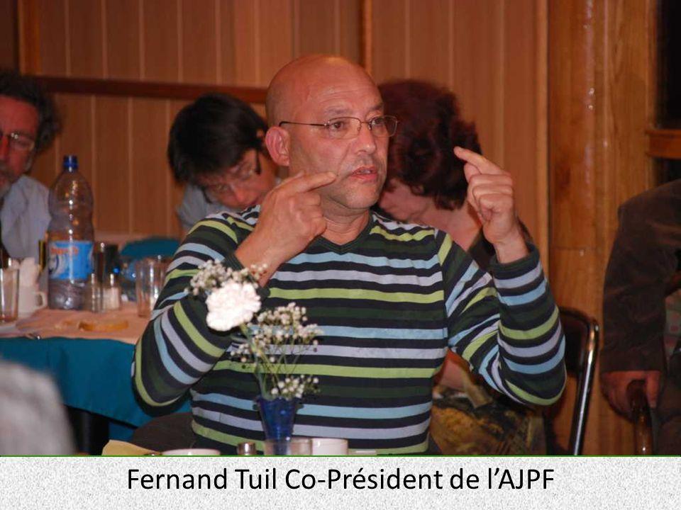 Fernand Tuil Co-Président de lAJPF
