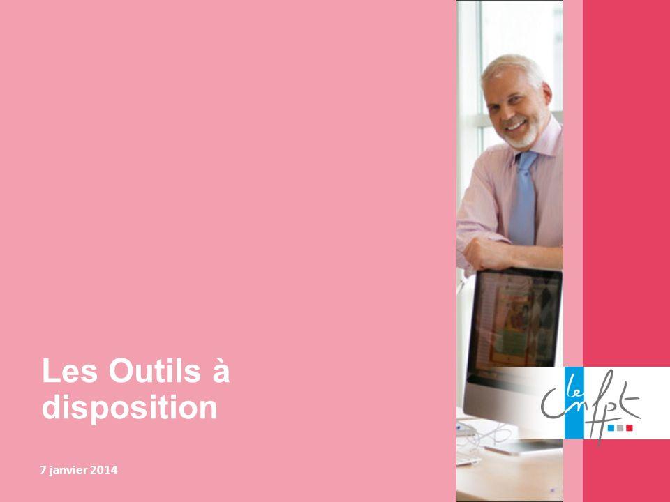 Les Outils à disposition 7 janvier 2014