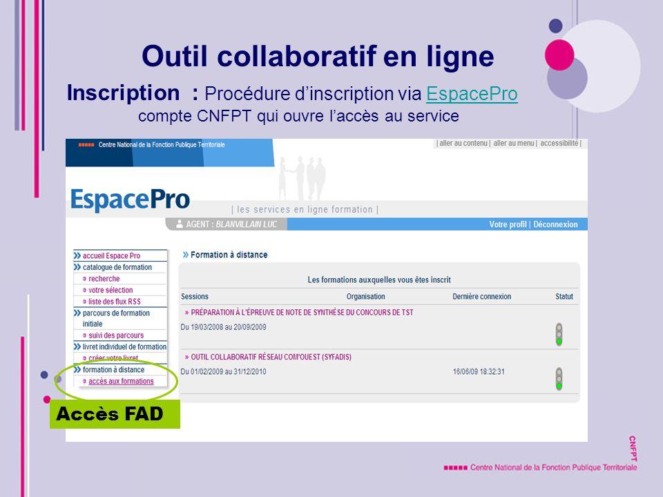 Interface : Onglet ACCUEIL Connexion Message DR Historique RV planifiés