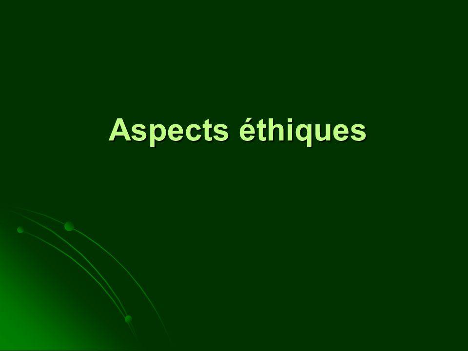 Aspects éthiques