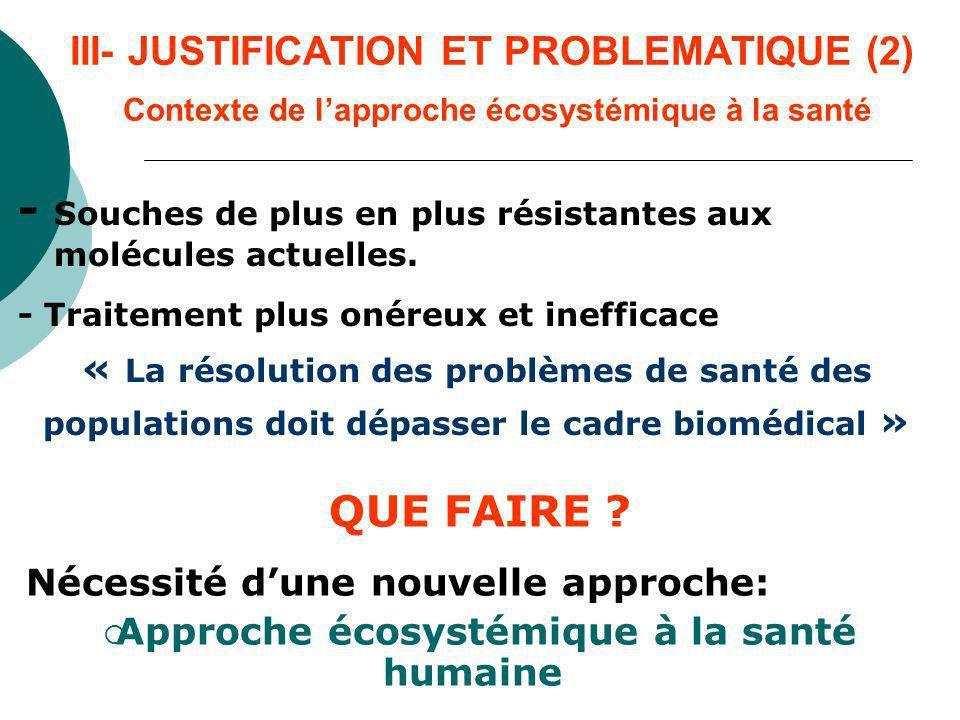 III- JUSTIFICATION ET PROBLEMATIQUE (3) Comment .