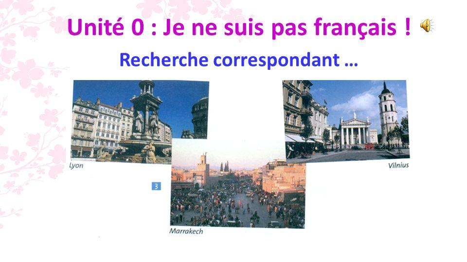 3 b.2. La Belgique; 3. LEspagne; 4. La France; 5.