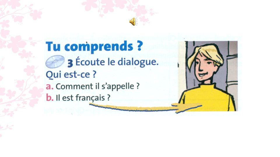 - loin (adv.) = près = - être dorigine + adj.de nationalité féminine =...