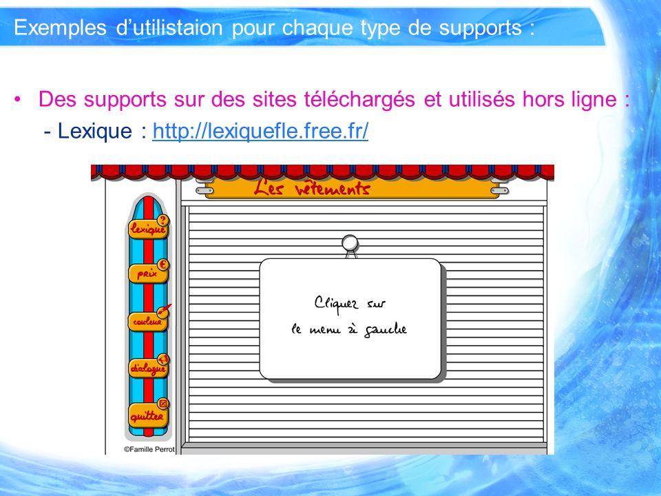 Ressources pédagogiques : Cours de FLE en ligne : - Le Point du FLE : http://www.lepointdufle.net/fle-en- ligne.htmhttp://www.lepointdufle.net/fle-en- ligne.htm
