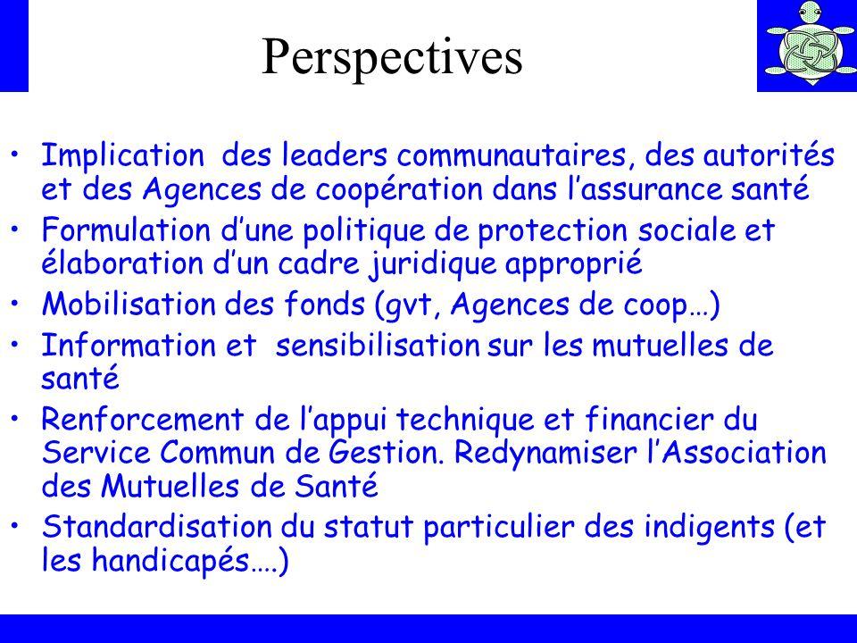 Implication des leaders communautaires, des autorités et des Agences de coopération dans lassurance santé Formulation dune politique de protection soc