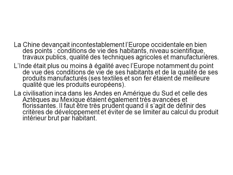 Les grandes découvertes selon les Européens Livre récent intéressant: Jack Goody, Le Vol de lHistoire.