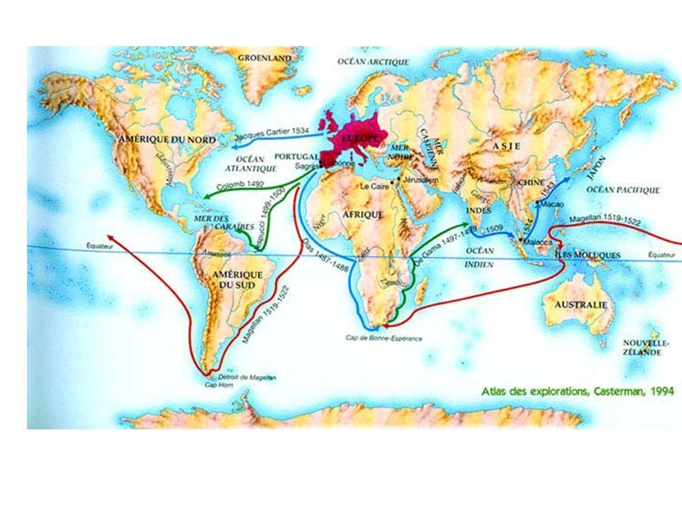 Le début de la mondialisation/globalisation remonte aux conséquences du premier voyage de Christophe Colomb qui la amené en octobre 1492 à débarquer sur les rivages dune île de la mer Caraïbe.