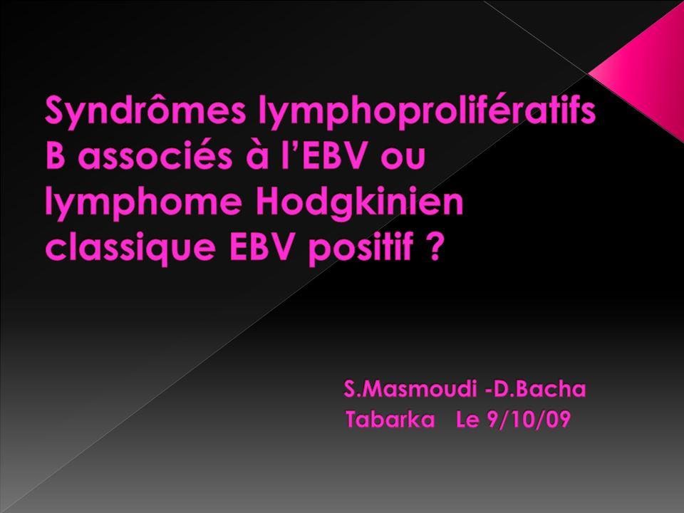 Au bilan dextension: BOM: normale Scanner TAP: -masse médiastinale de 7cm -HMG homogéne -SMG multinodulaire -ADP coeliomésentériques Bilan immunologique : demandé