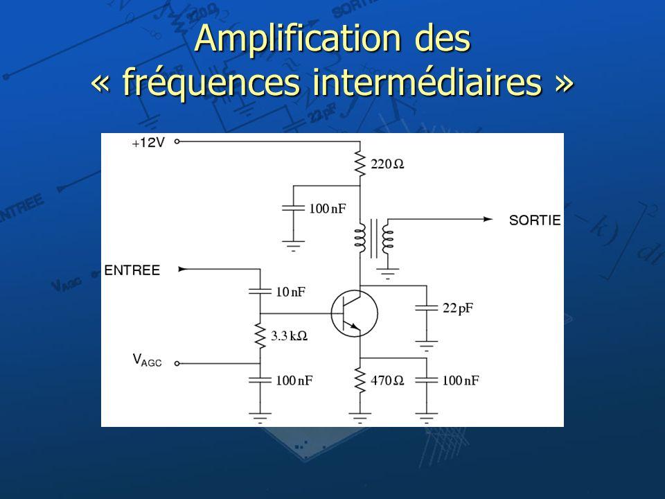 Amplification des « fréquences intermédiaires »