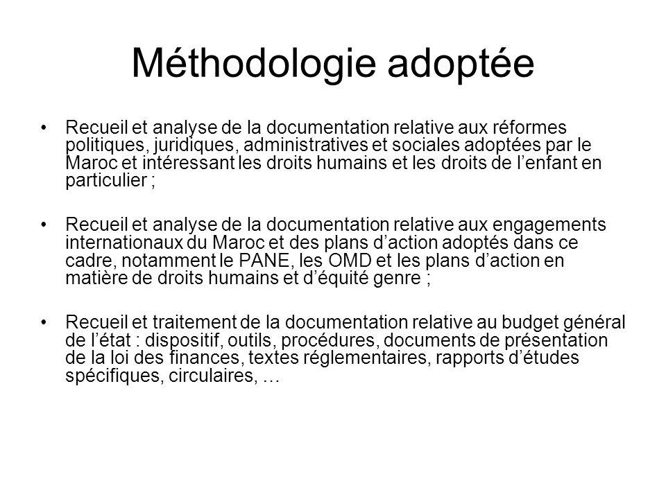 OBJET DU RAPPORT 1 Ce premier rapport consacre la partie de létude relative à lanalyse des mécanismes délaboration du budget général de létat au regar