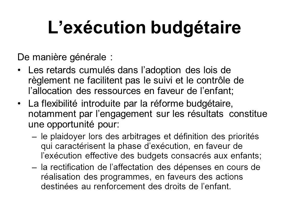 L'exercice du contrôle du Parlement Plusieurs types de dysfonctionnements : la logique tacite en faveur de l'augmentation de la dépense l'emporte sur