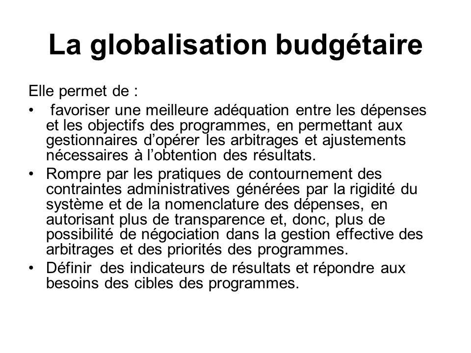Les différents axes de la réforme budgétaire constituent, en définitive, des opportunités réelles pour une meilleure lisibilité du budget dans ce quil