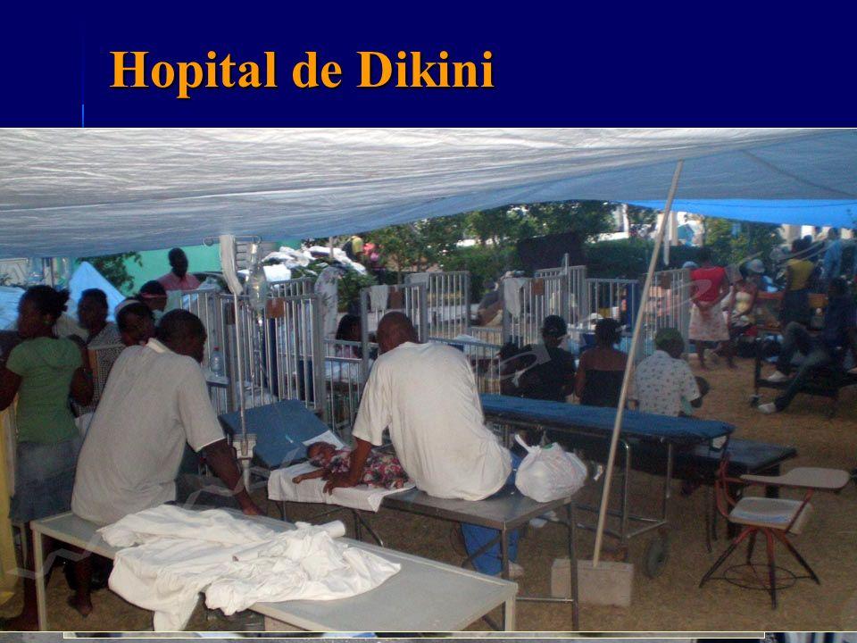 Exfiltration au CHU de Fort de France Materiel 9 Patients (2+7) Age moyen 31 ans SR 7/2 Bilan lésionnel 9 body scan inj 5 irm Hospitalisation UPR (unité Haiti) et NC